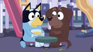 Bluey Cafe Episode