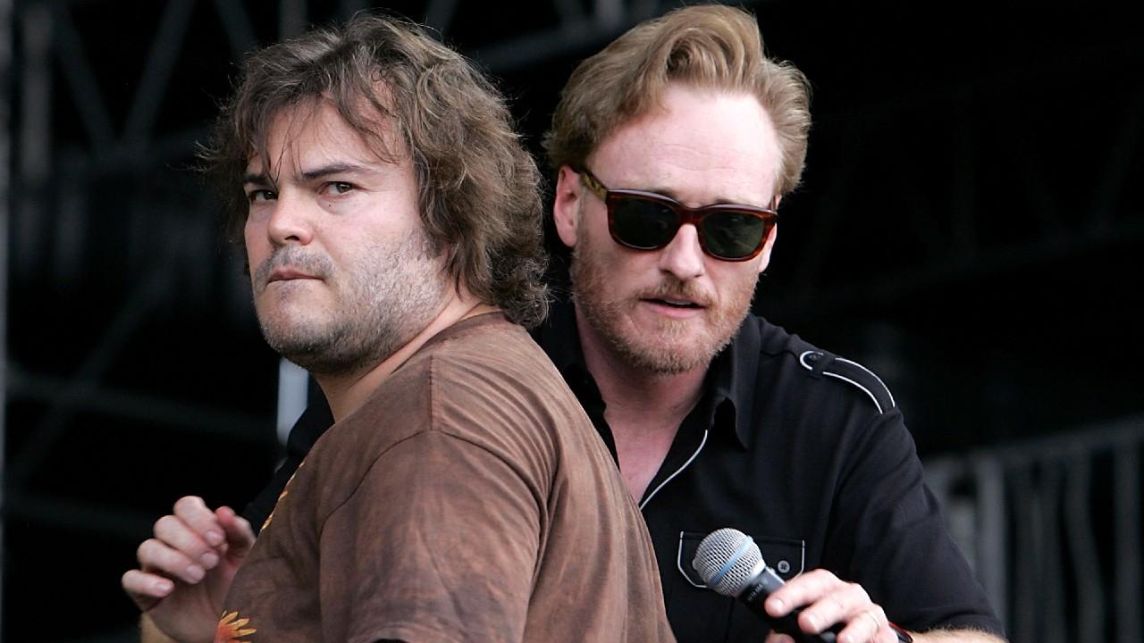 Jack Black and Conan O'Brien Final Epsisode