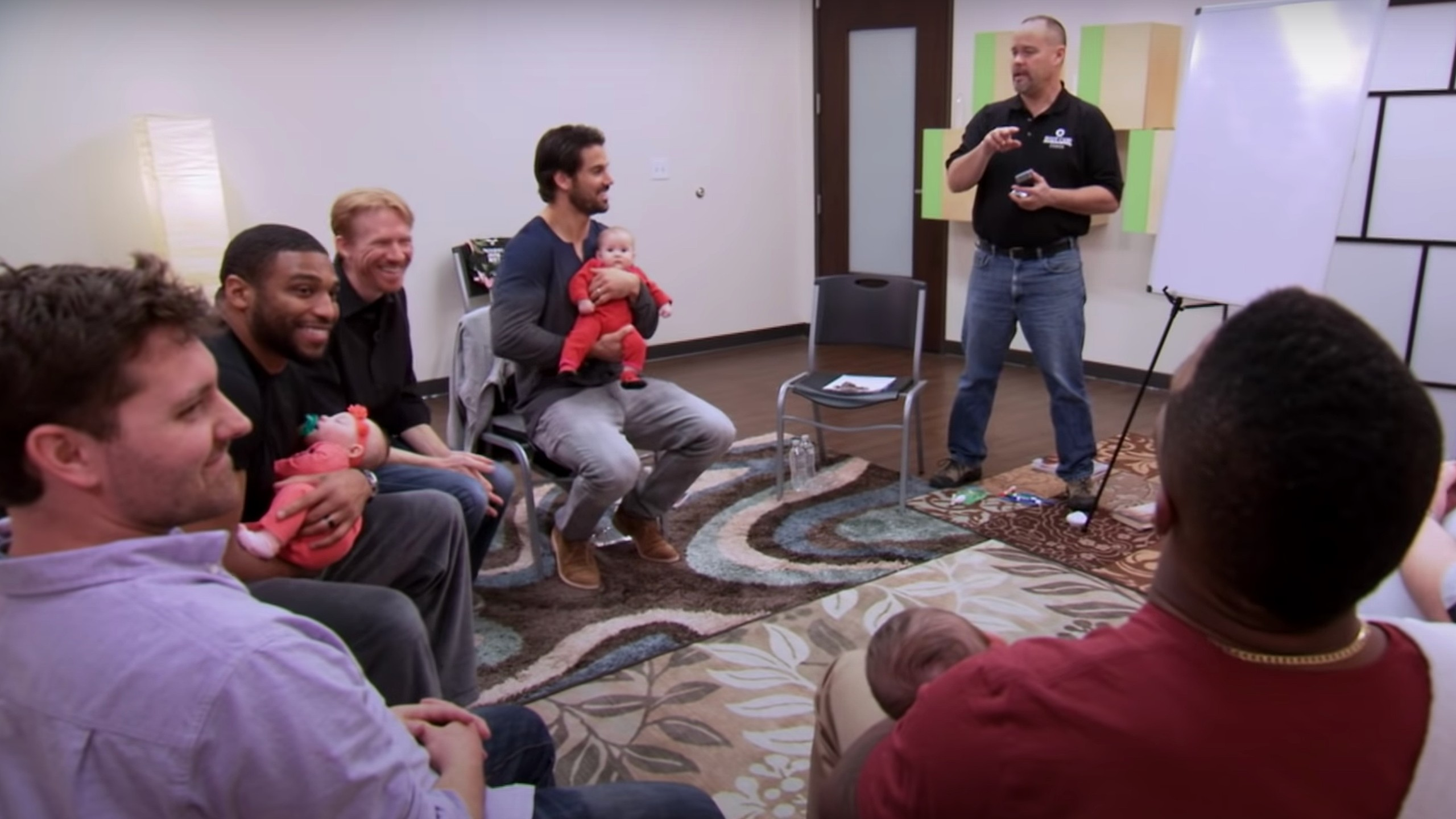 Boot Camp for New Dads helps dads learn from experienced fathers