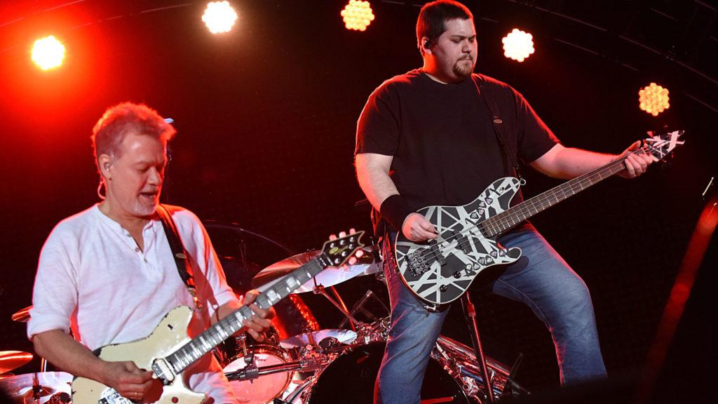 Wolf and Eddie Van Halen