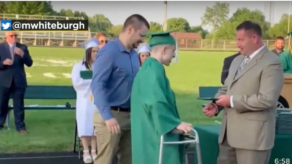 Graduation Player Walk