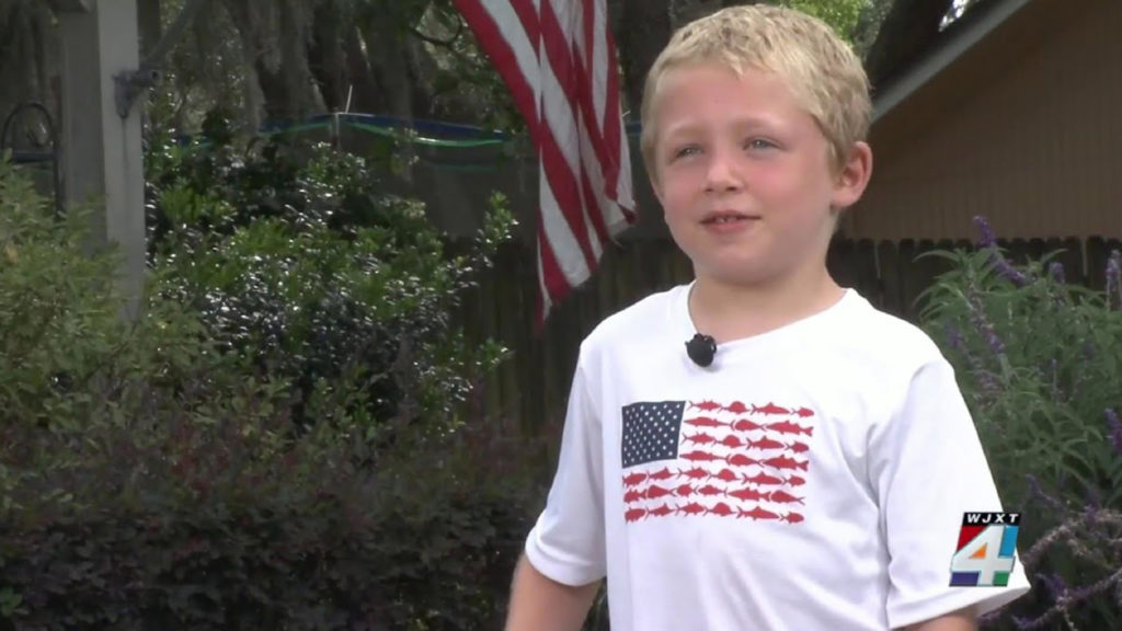 Hero 7-year-old Chase Proust