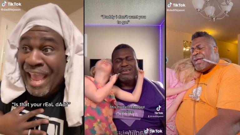 Musical dad gains viral fame on TikTok