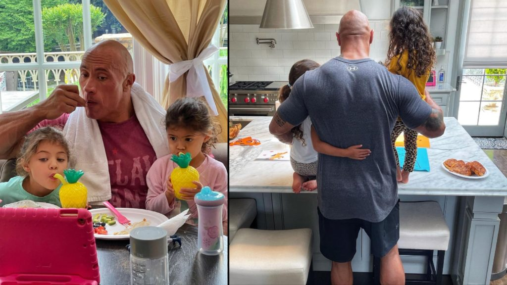 The Rock talks fatherhood and marriage after being named number one reason to love America