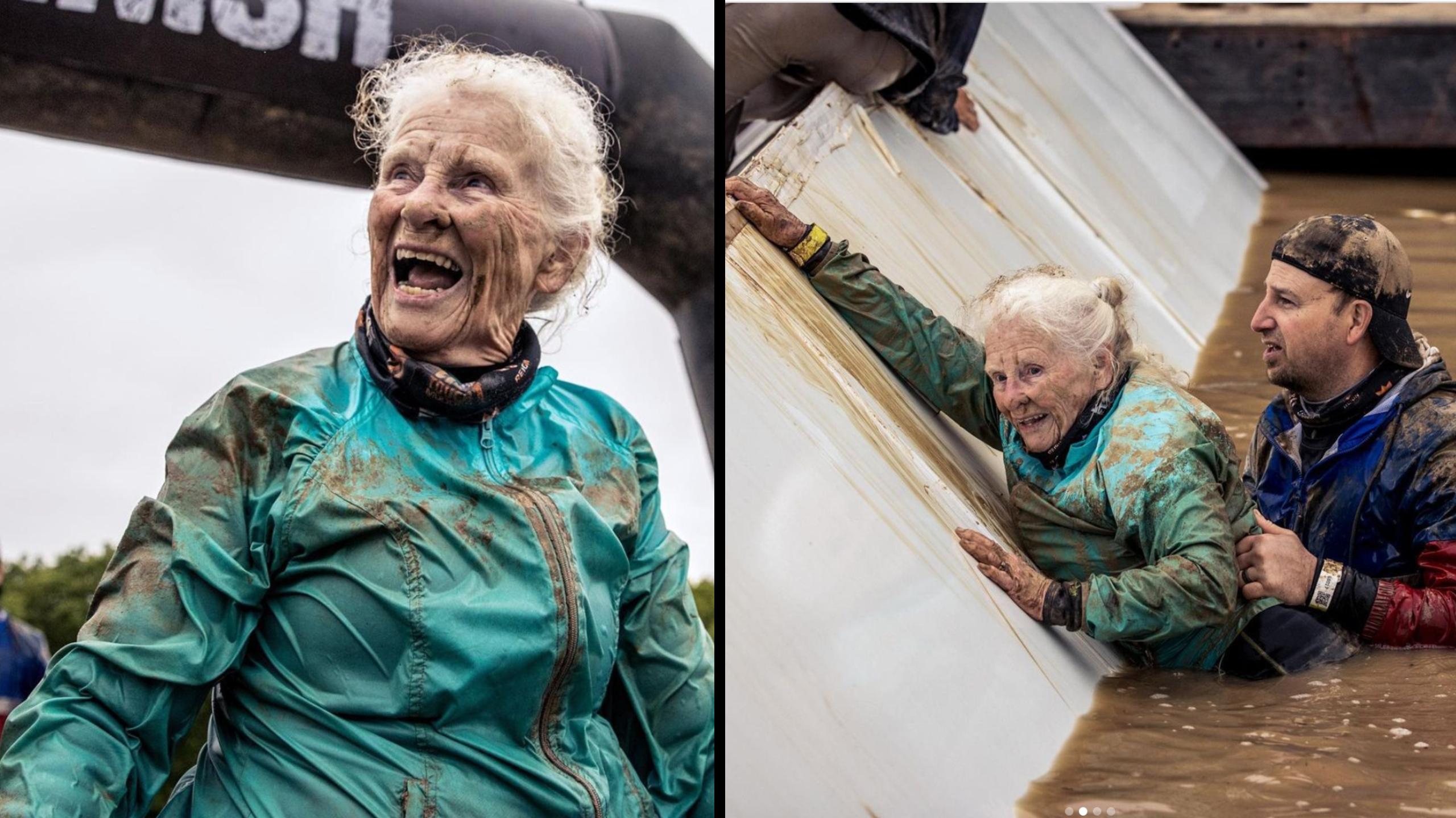 Tough Mudder Grandma