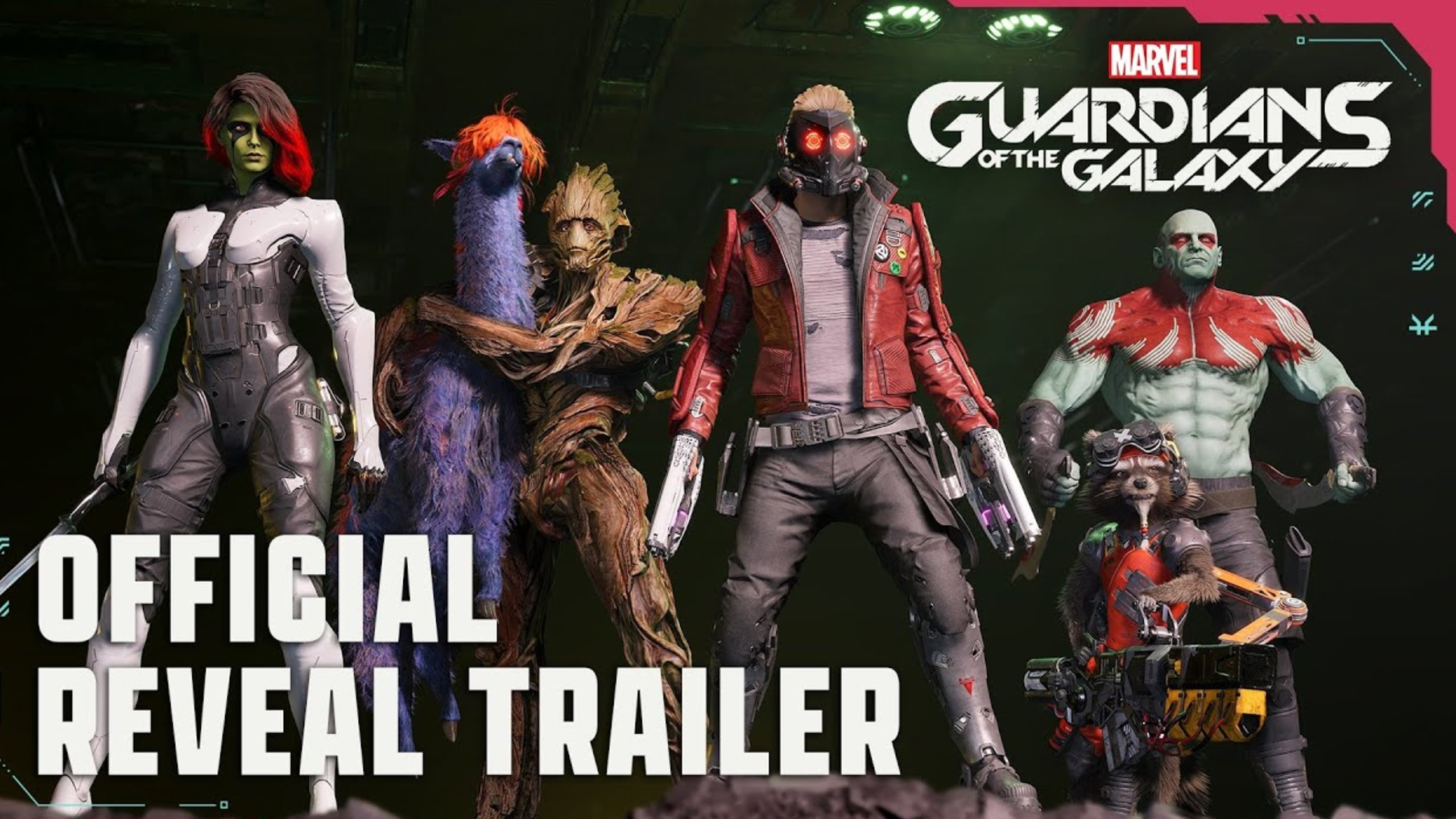 Guardians of the Galaxy Game Reveal Trailer
