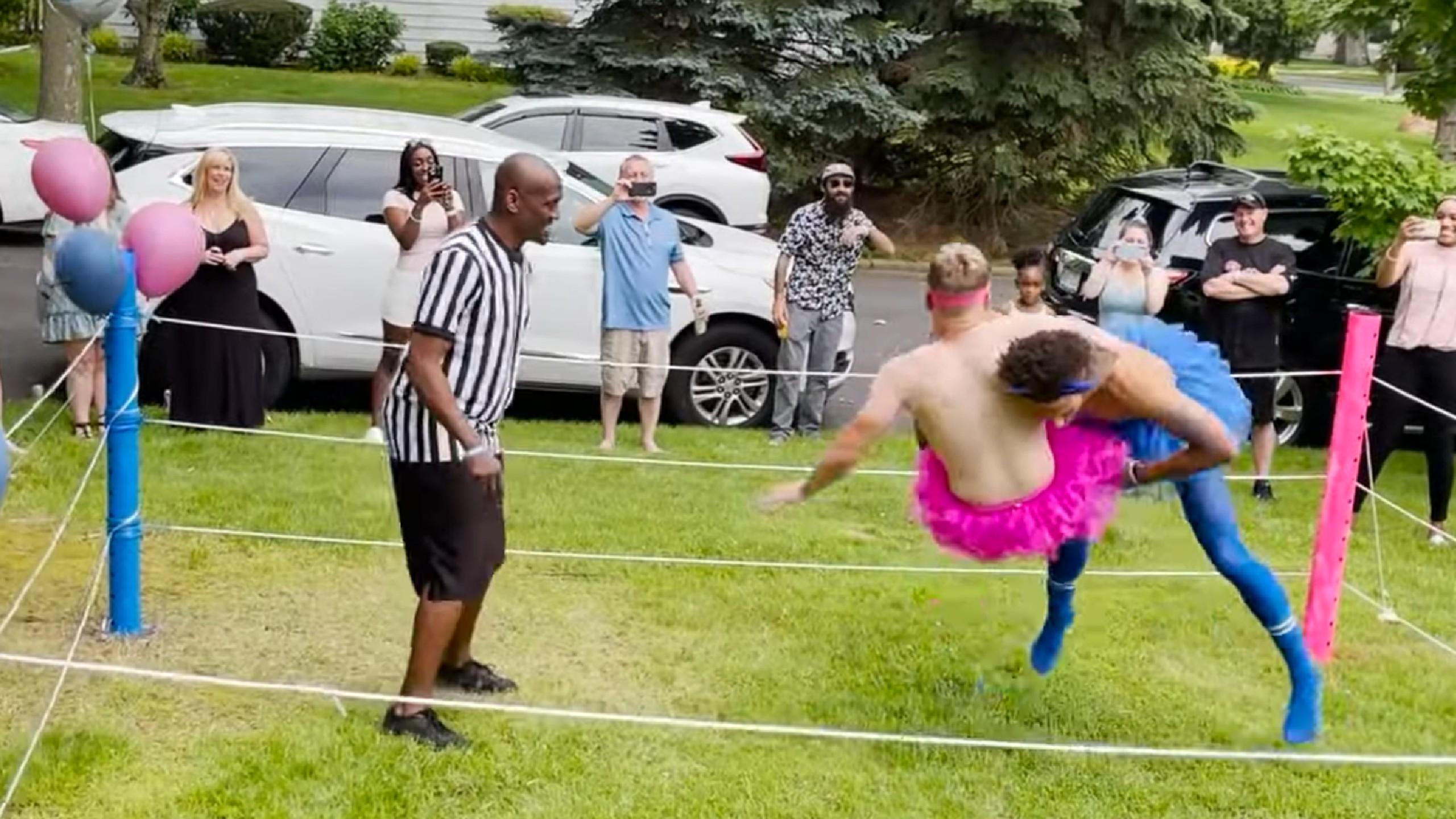 Wrestling Gender Reveal