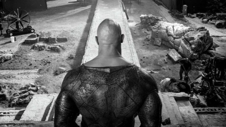 The Rock Gives Us Our First Glimpse of Black Adam