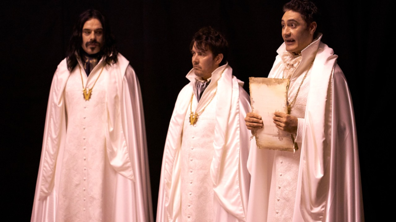A Still from What We Do In The Shadows