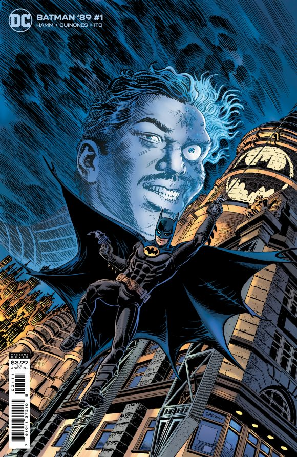 Varient Cover of Batman 89 Featuring Two Face