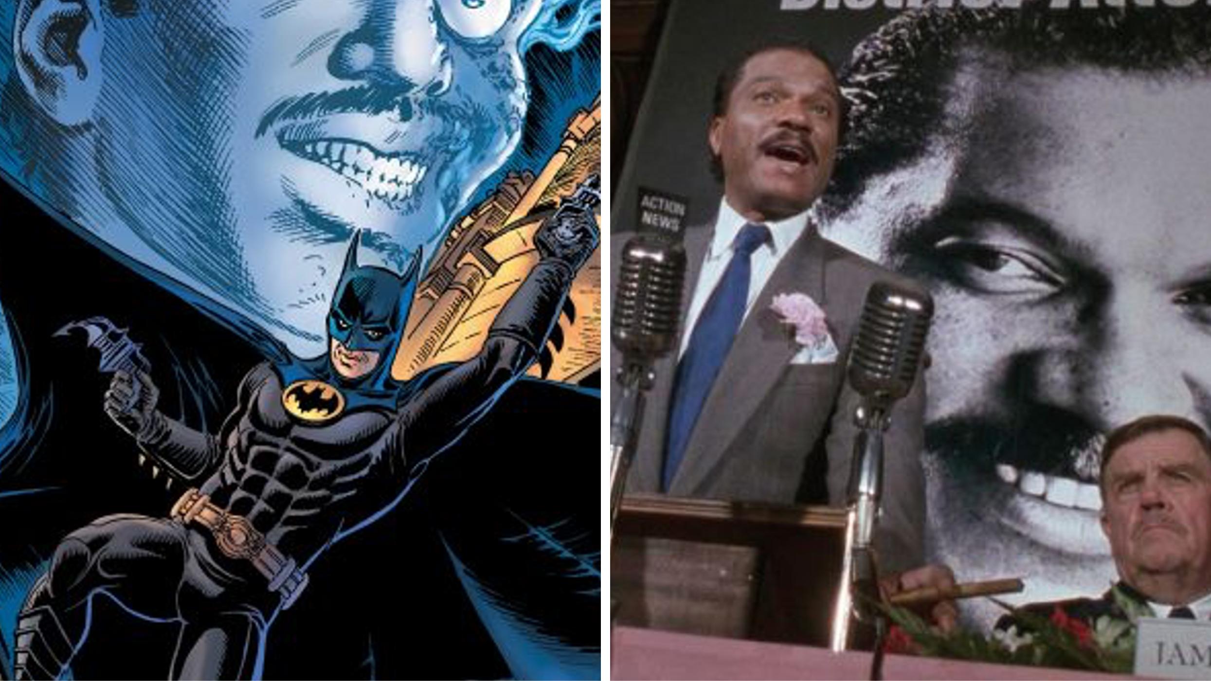 Batman 89' Reveals Billy Dee Williams as Two-Face