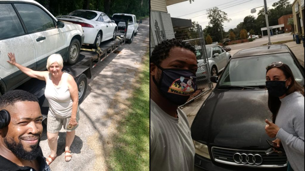 Man fixes and donates cars in memory of late dad