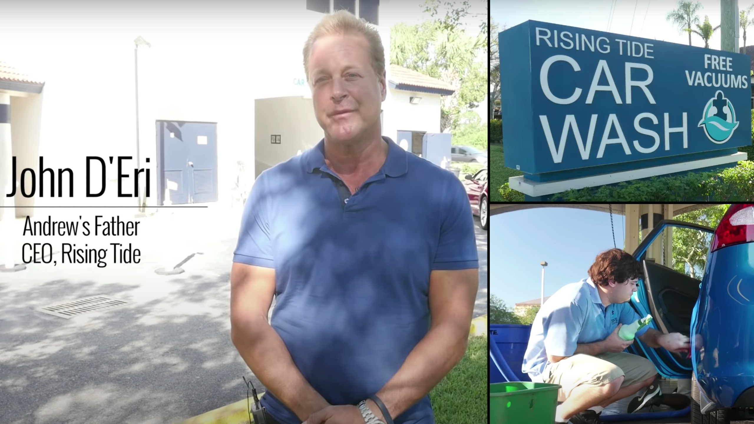 Dad opens car wash that employs people with autism