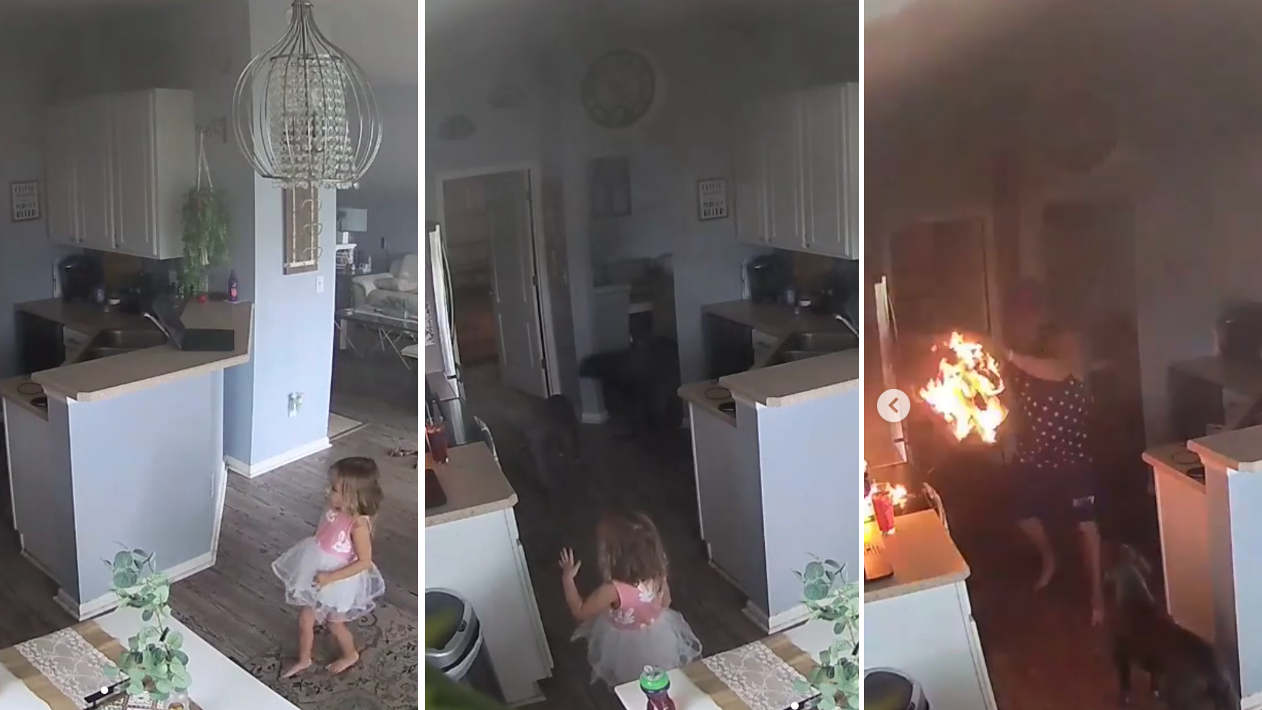 Hero 4yo Save Home From Fire