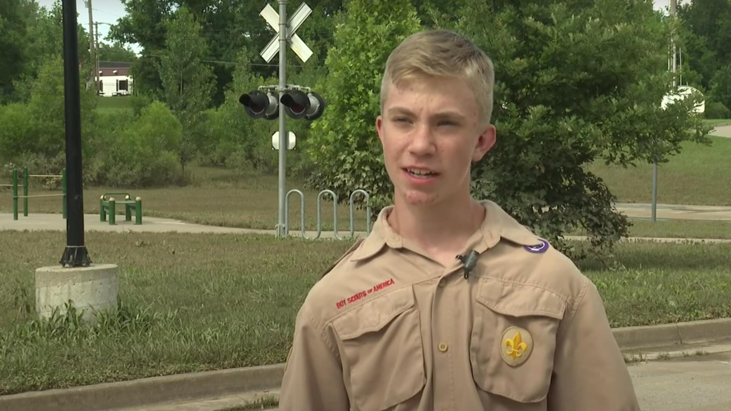 Hero boy Scouts