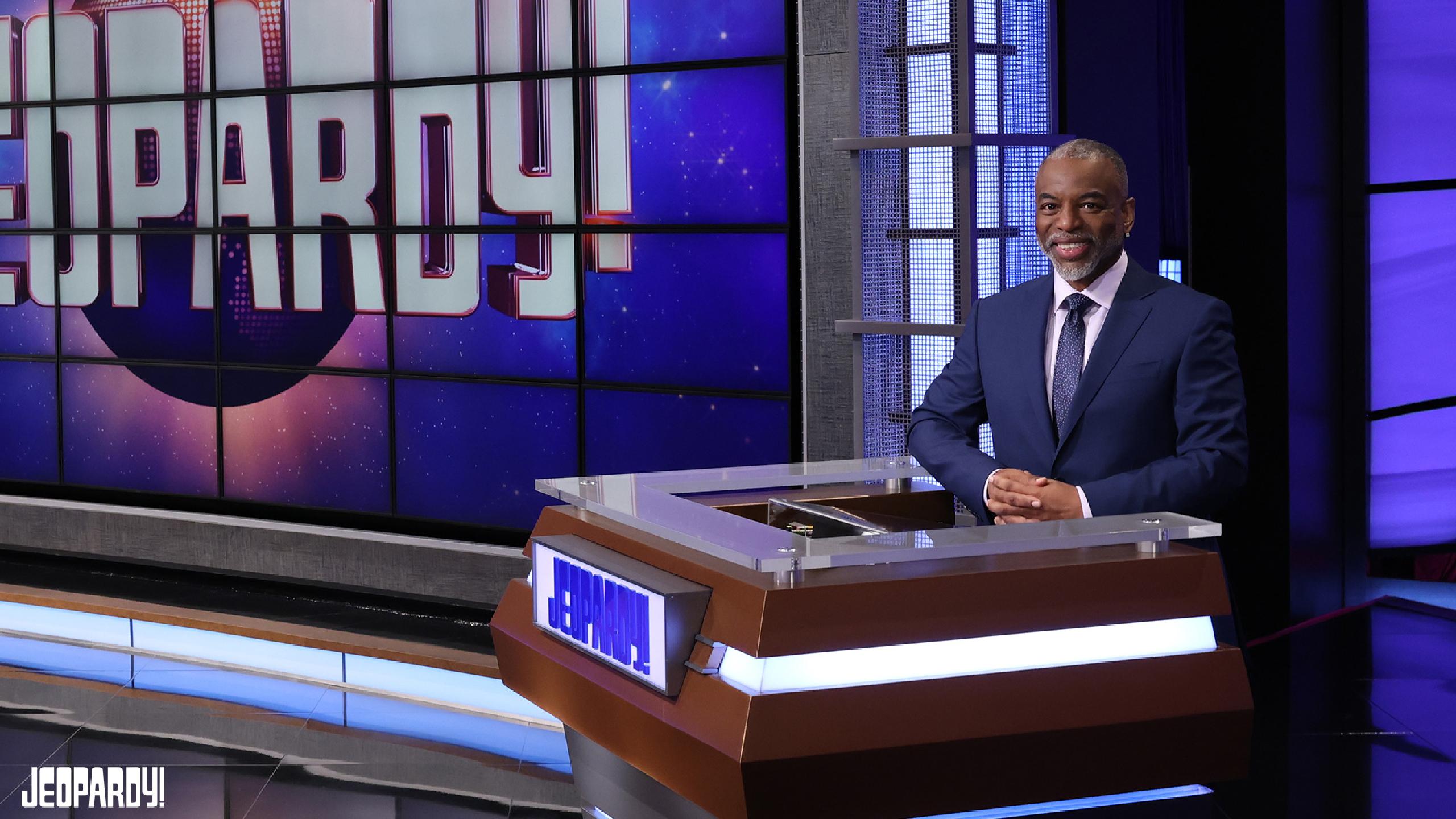 Levar Begins Hosting Jeopardy