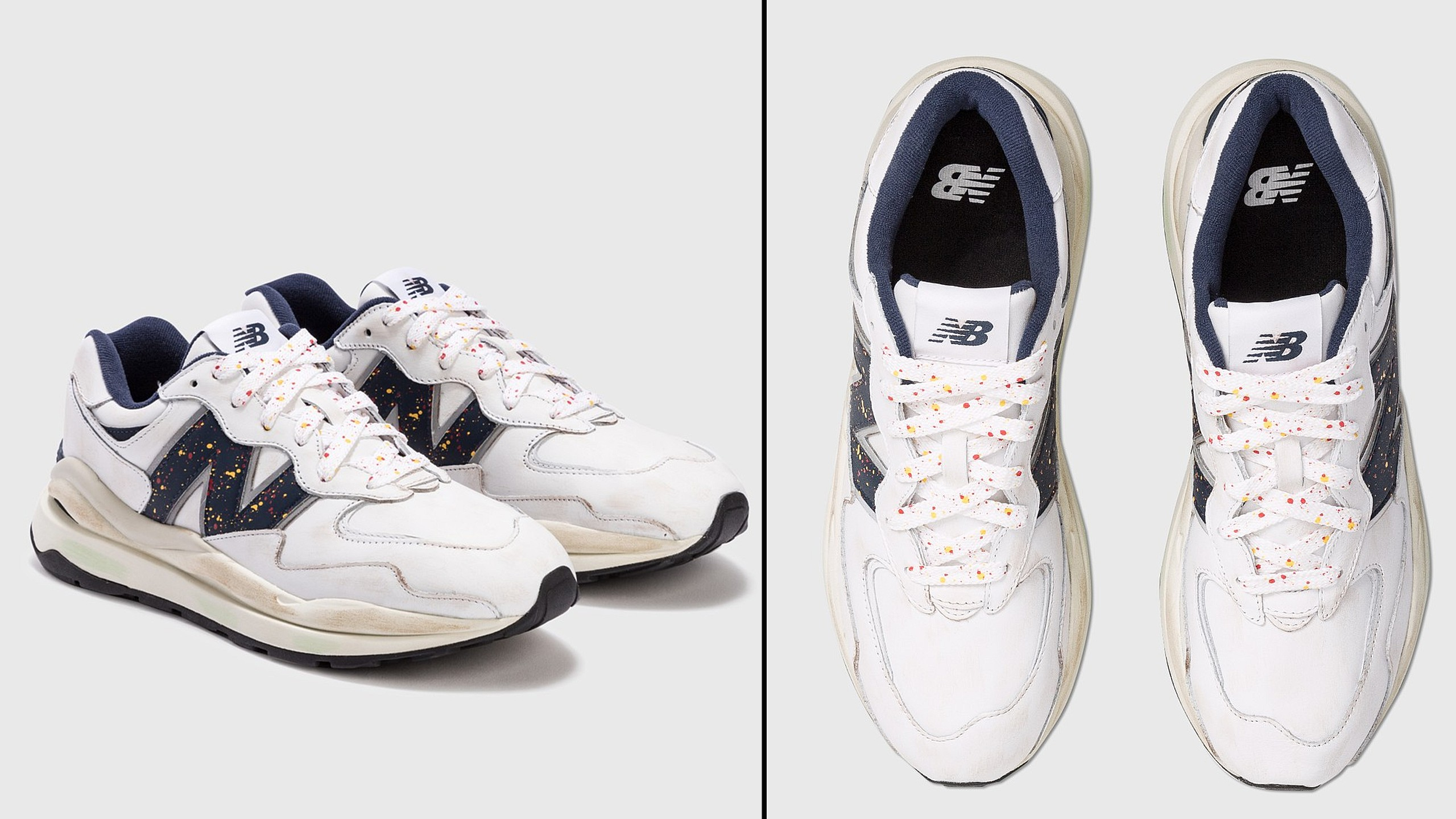New Balance Father's Day Stained Shoes
