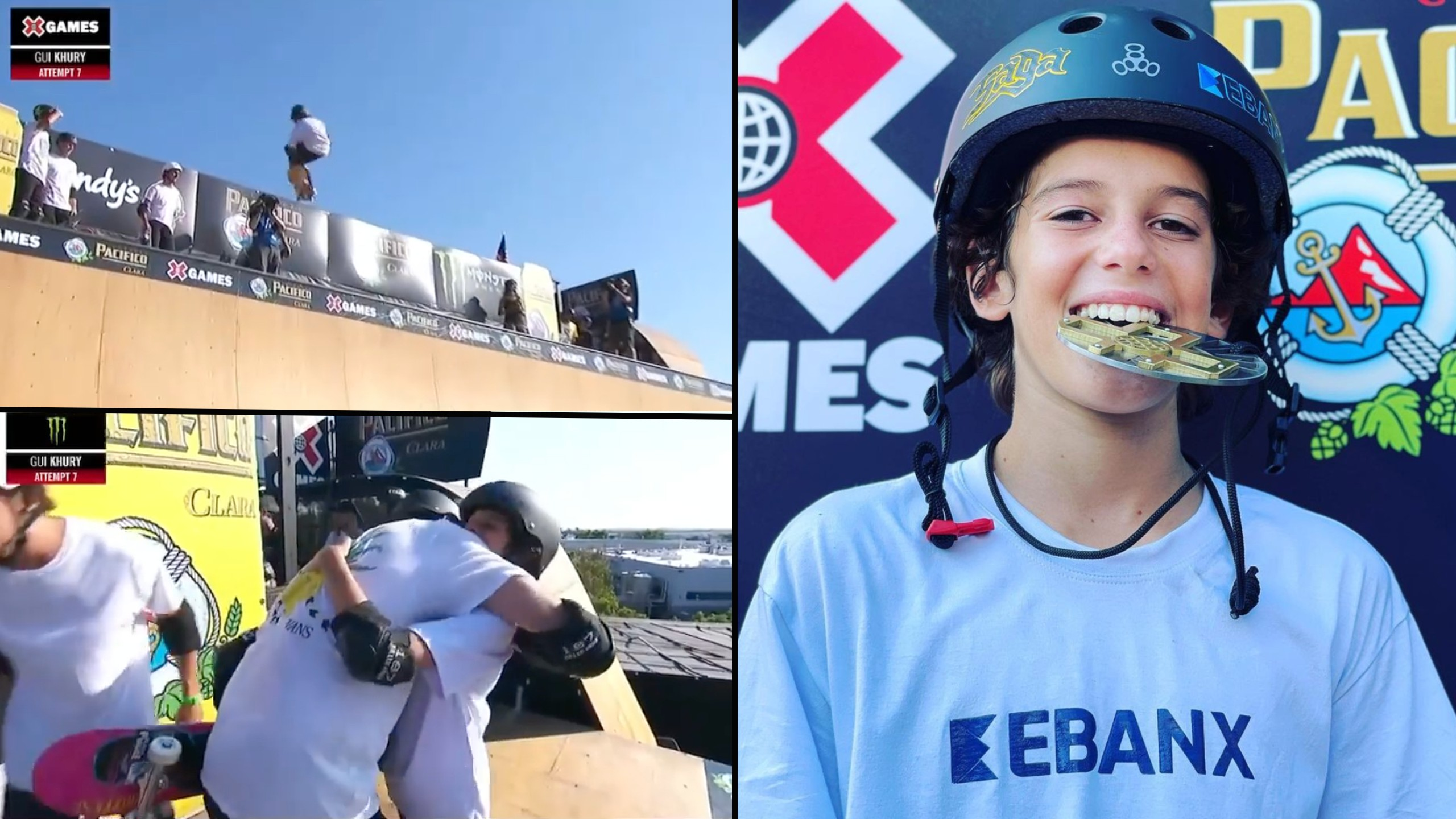 12-Year-Old skater beats Tony Hawk, sets two X Games records