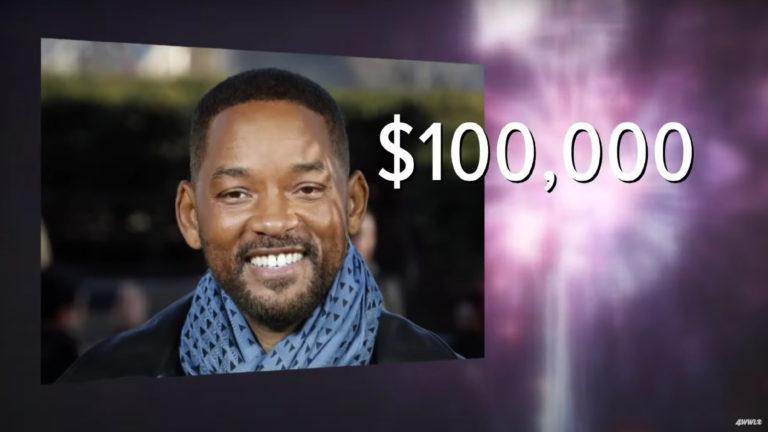 Will Smith Fireworks $100k