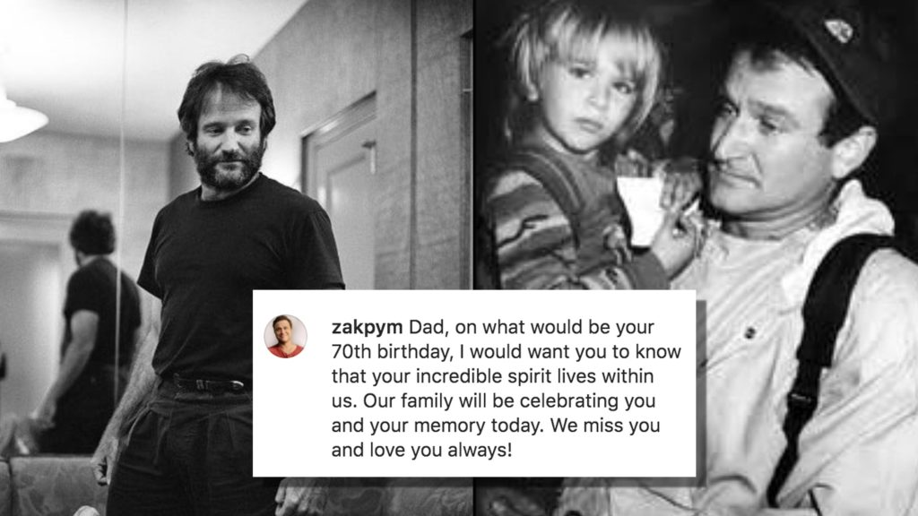 Zak Williams talks openly about his dad in honor of his 70th birthday