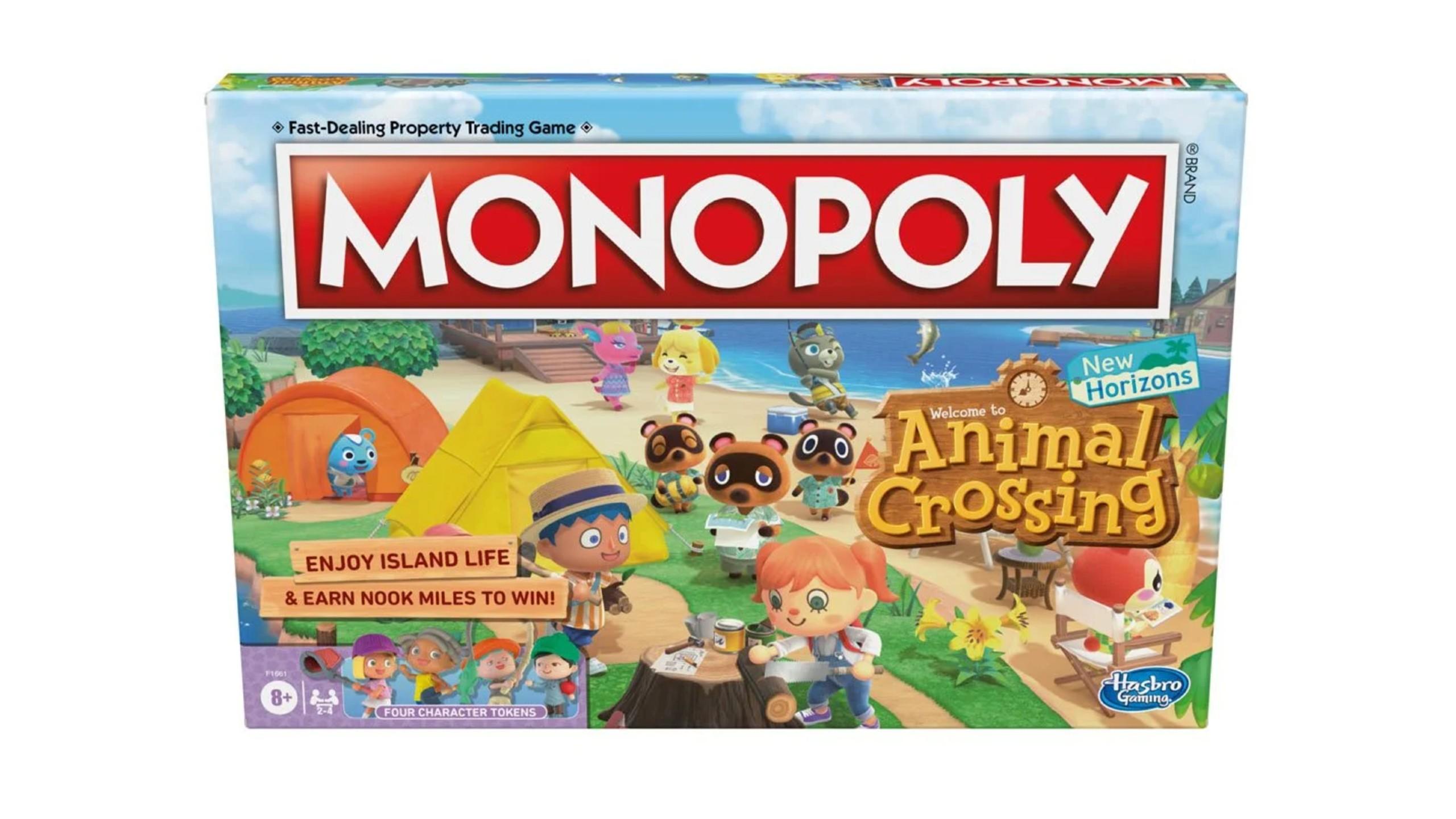 Animal Crossing New Horizons Monopoly