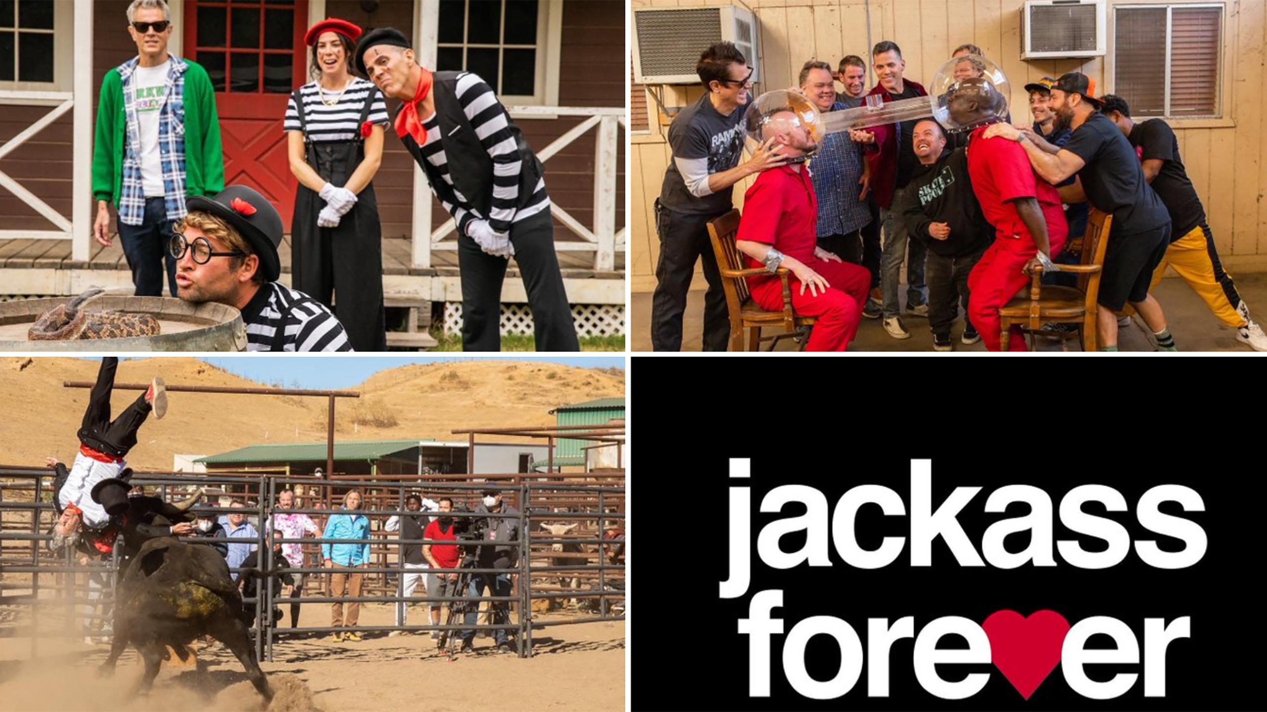 Jackass 4 Set Photos