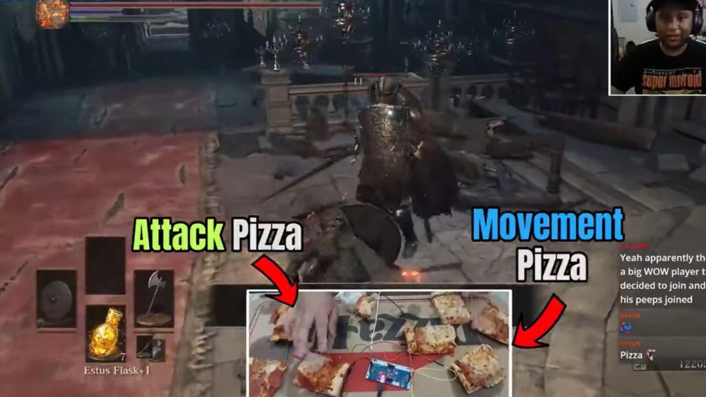 Dark Souls Pizza Controller