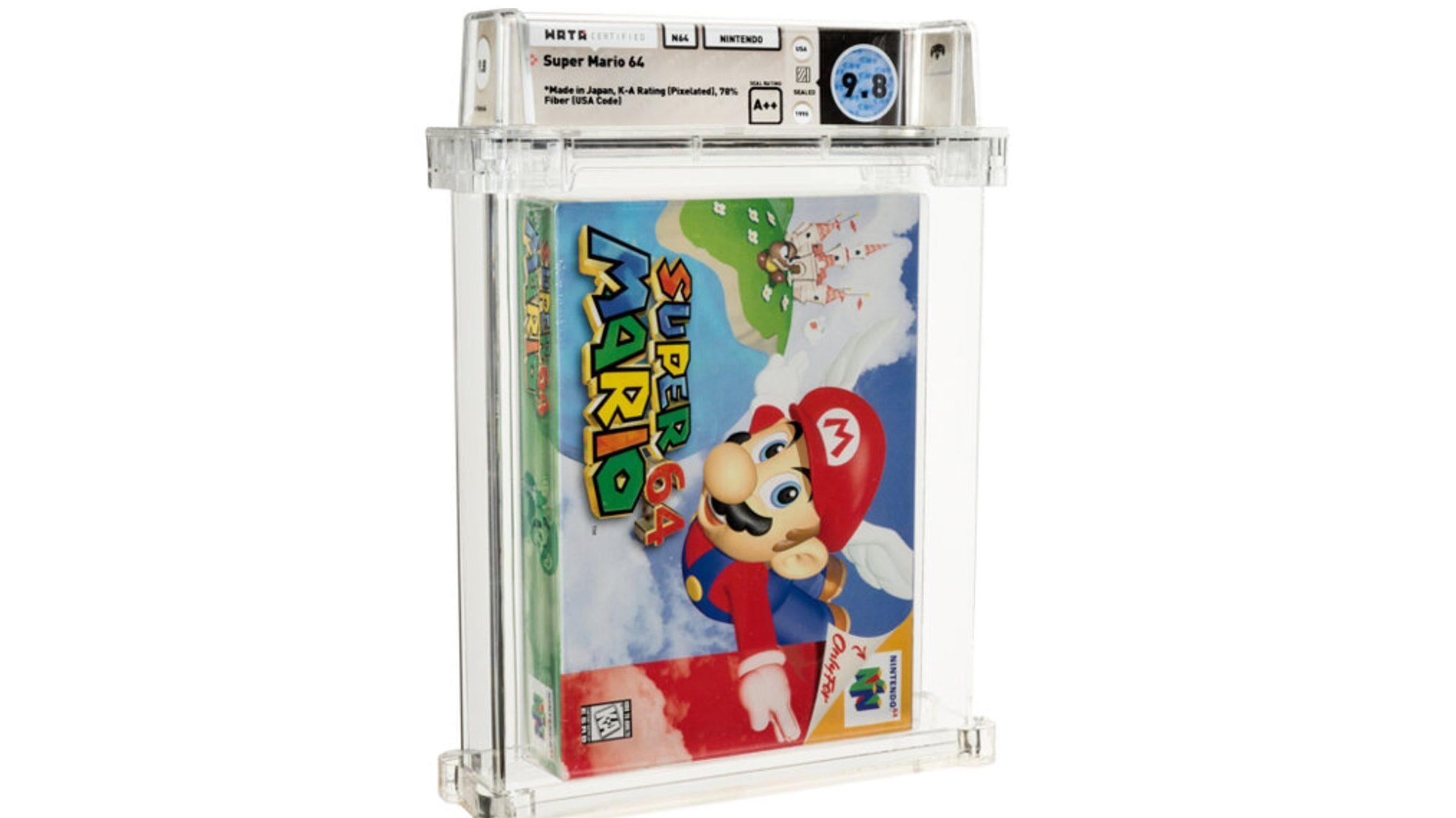 Super Mario 64 Heritage Auctions