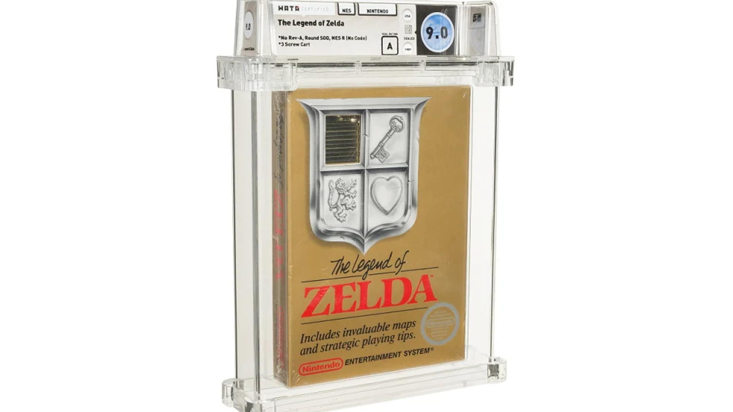 Legend of Zelda Heritage Auction