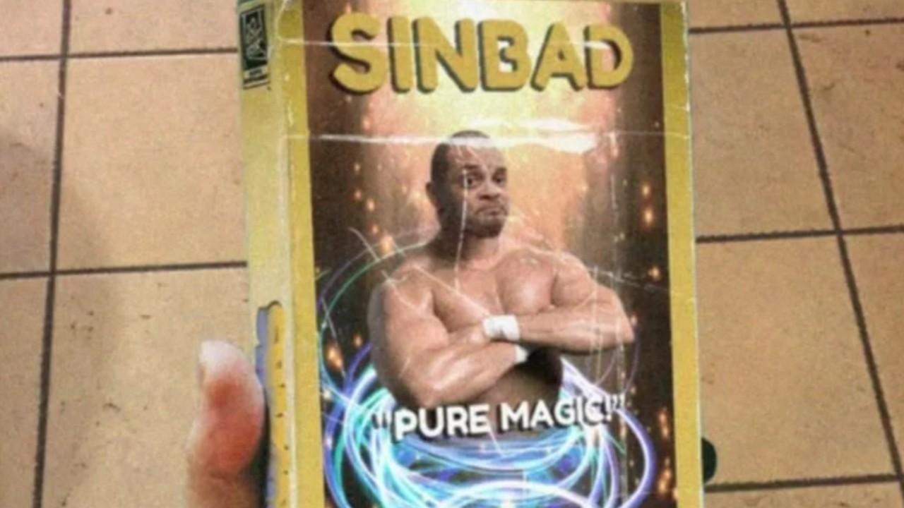 Fake movie case for the movie Shazam!