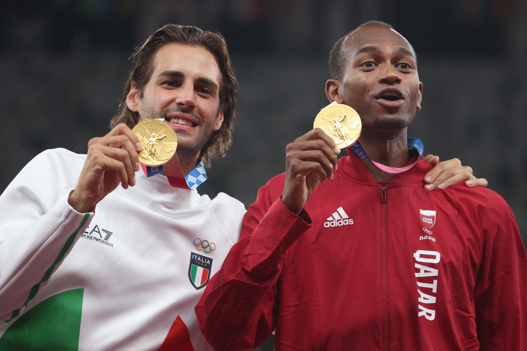 High Jump Gold Medal Winners