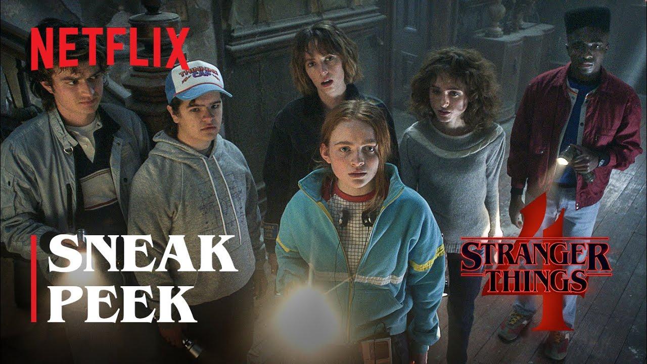 Stranger Things Sneak Peek Trailer
