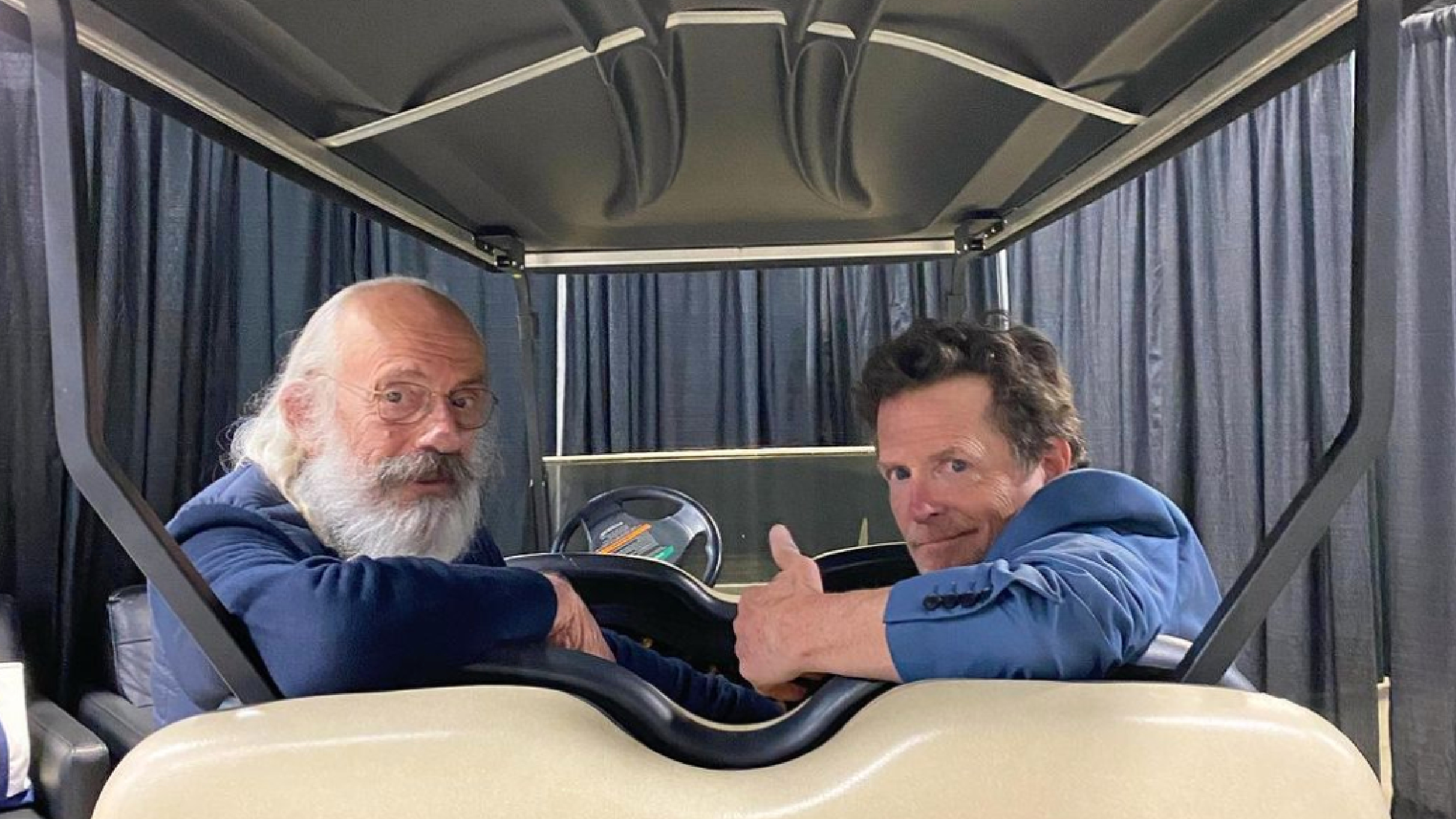 Back to the Future Reunion at Awesome Con
