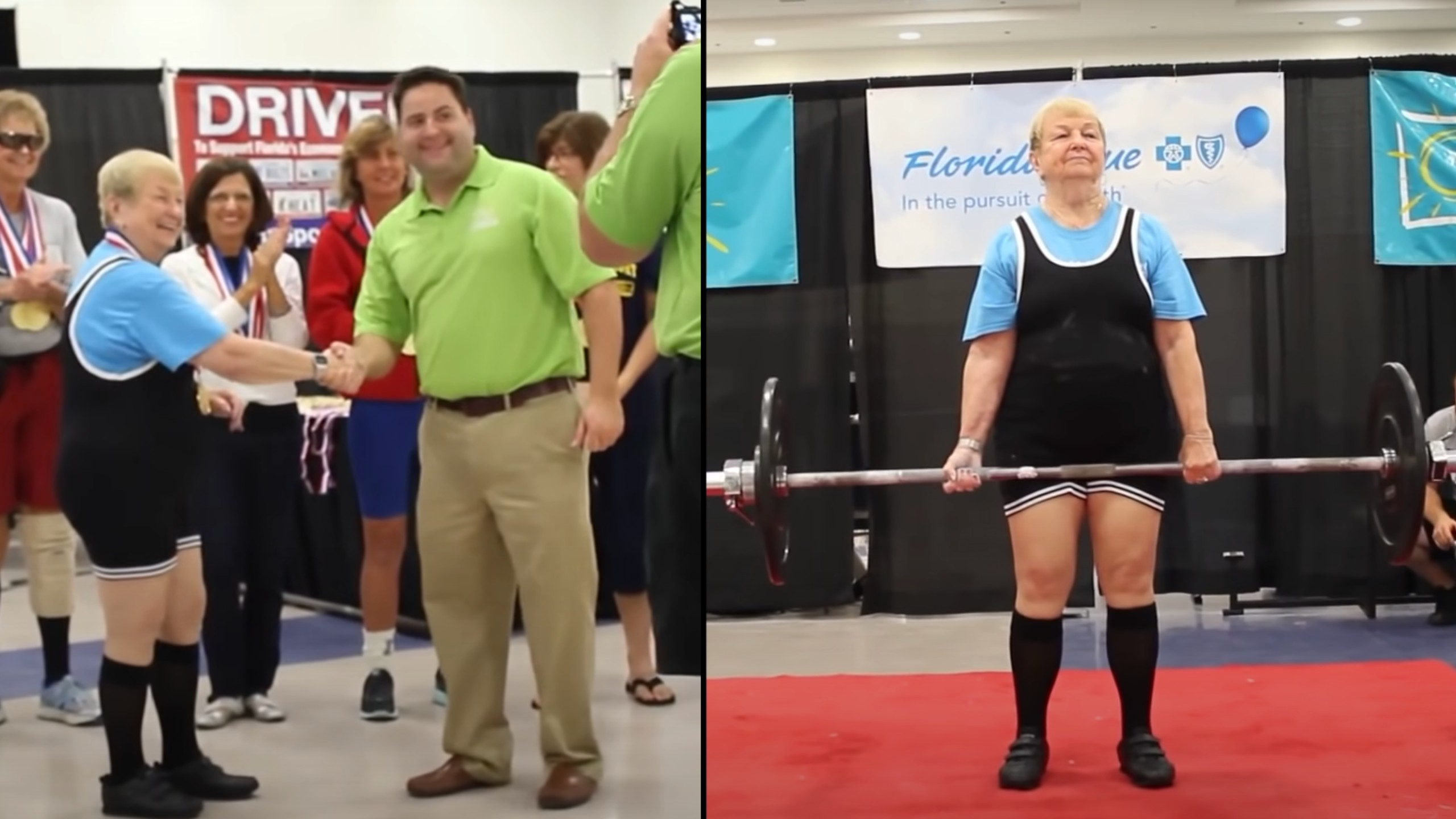 World's oldest female competitive powerlifter turns 100
