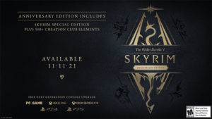 Elder Scrolls Skyrim Anniversary Edition