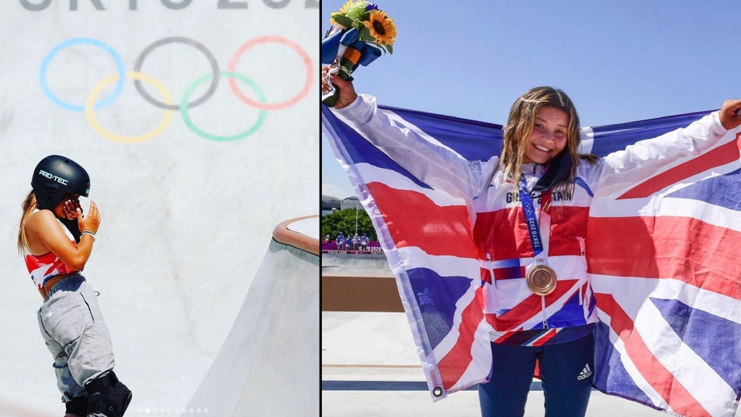 13-year-old skateboarder becomes Great Britain's youngest ever competitor