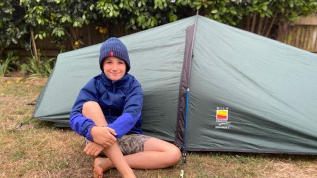 Tent Boy