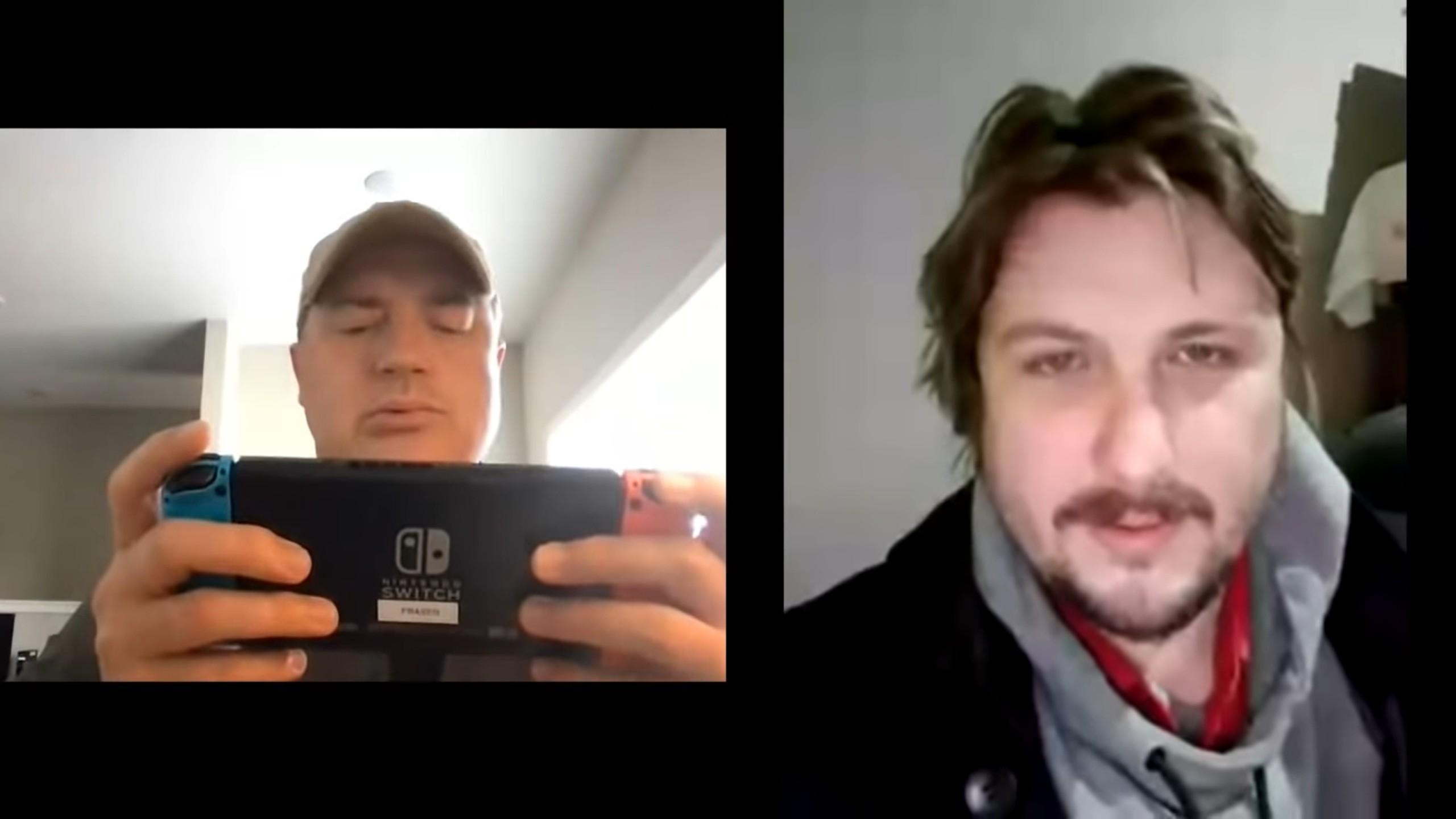 Brendan Fraser Nintendo Switch