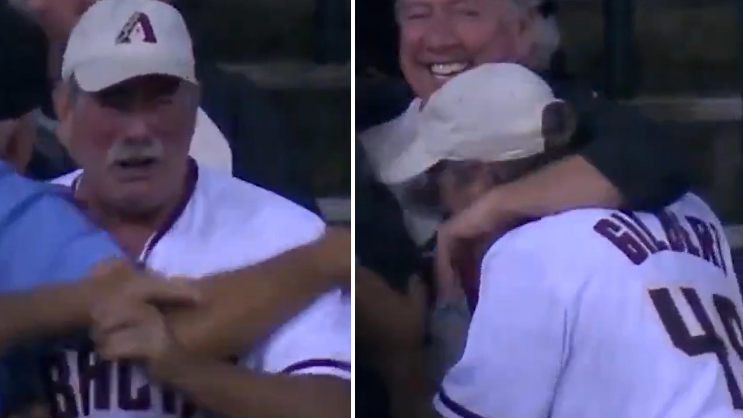 tyler gilbert's dad emotional