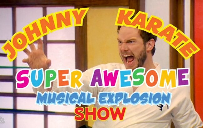 Johnny Karate Super Awesome Musical Explosion Show