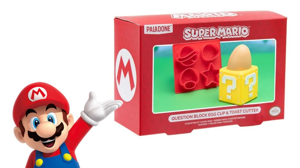 Mario Egg Cup & Toast Cutter