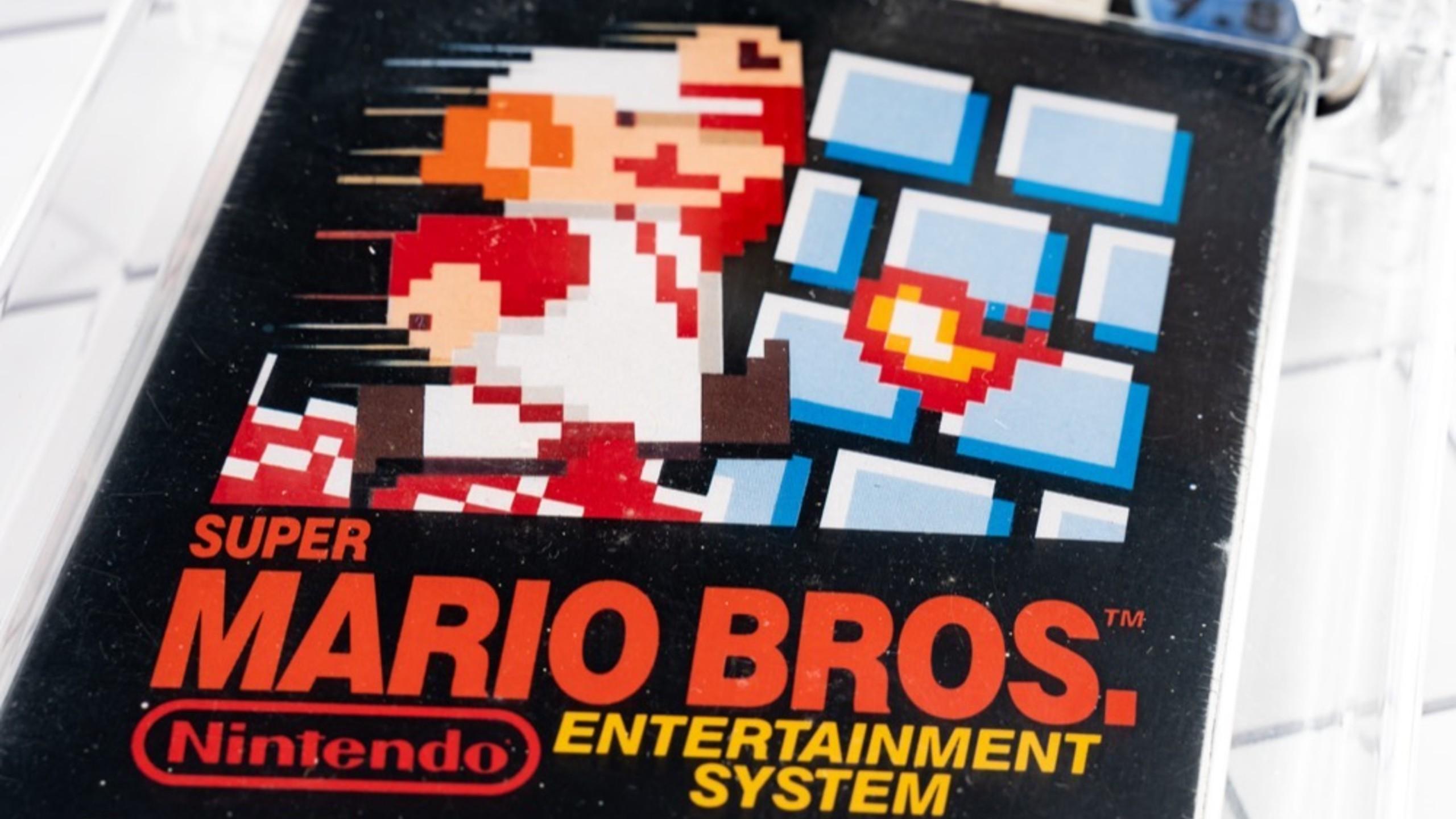 Super Mario Bros. Auction