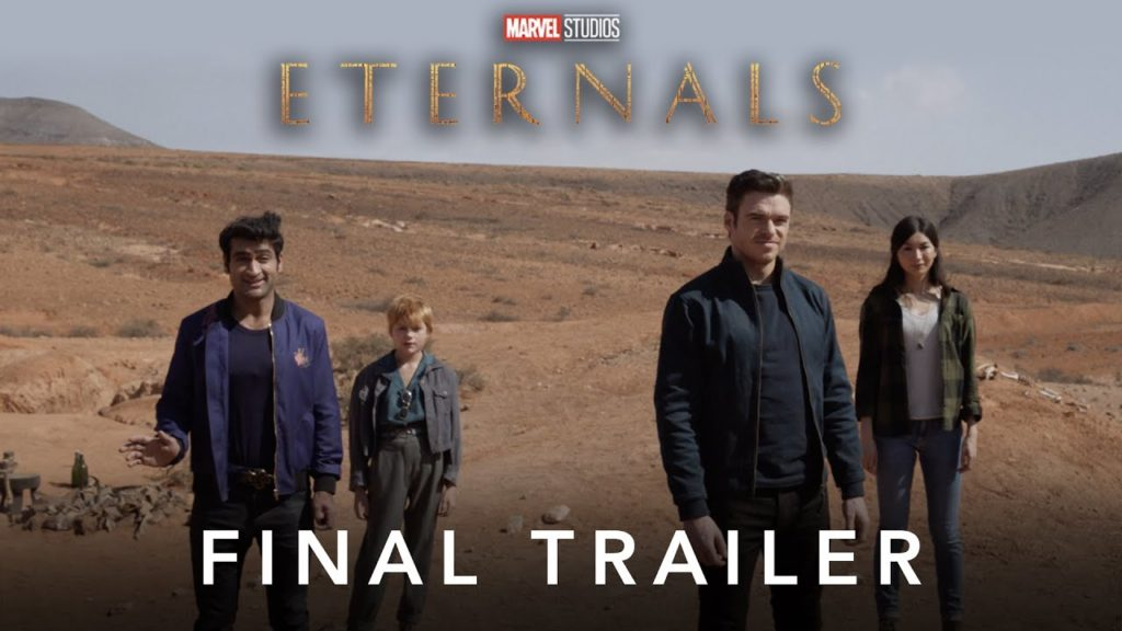 New Trailer for the Eternals