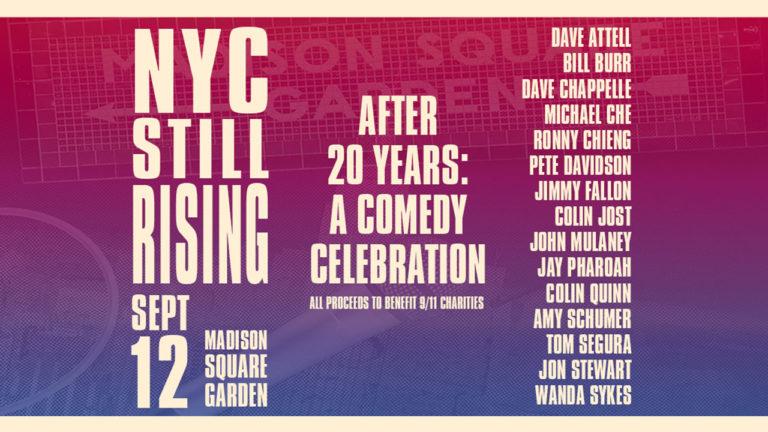 still rising 9/11 comedy show