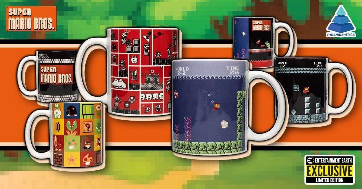Super Mario Mugs Entertainment Earth Exclusive