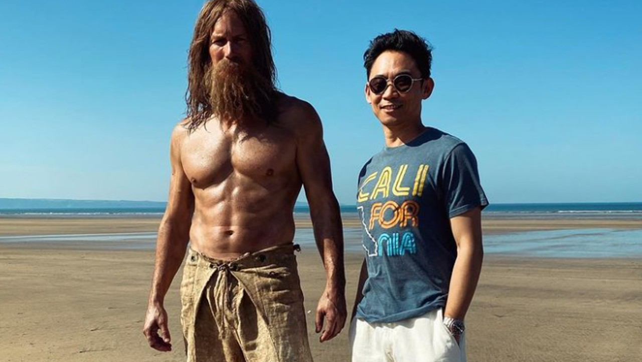 New looks for Aquaman 2