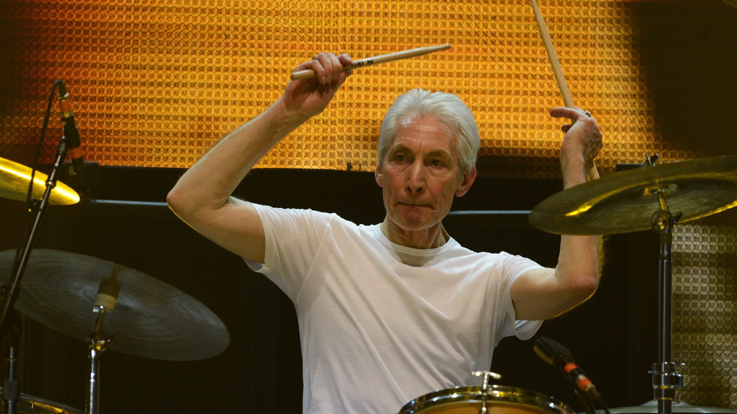 Rolling Stones Drummer Charlie Watts