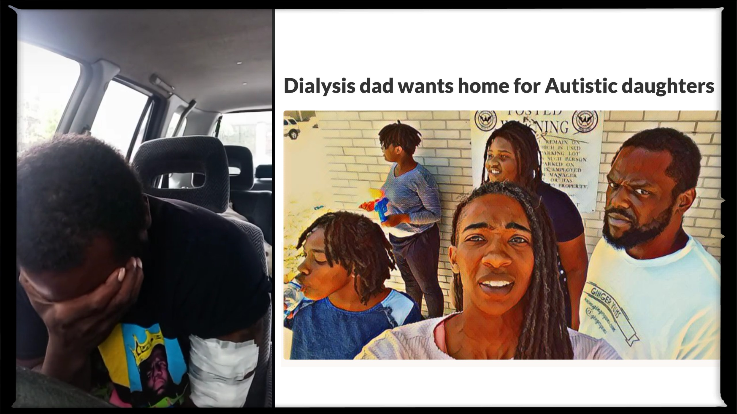 Generous strangers help dad on dialysis afford home