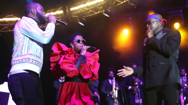 The Fugees take the stage for the first time in 15 years