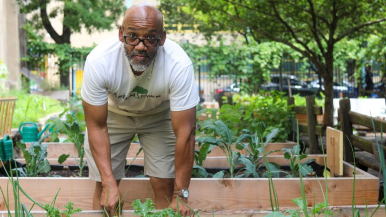Man Uses Gardening to Help Harlem's Kids Thrive